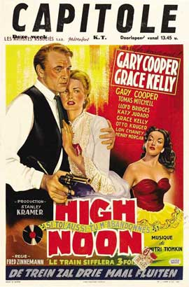 High Noon - 11 x 17 Movie Poster - Spanish Style B