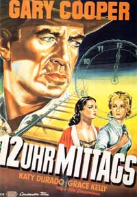 High Noon - 11 x 17 Movie Poster - German Style B
