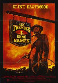 High Plains Drifter - 11 x 17 Movie Poster - German Style A