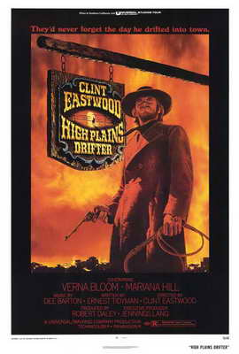 High Plains Drifter - 27 x 40 Movie Poster - Style A