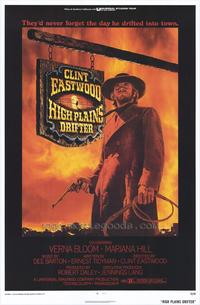 High Plains Drifter - 43 x 62 Movie Poster - Bus Shelter Style A