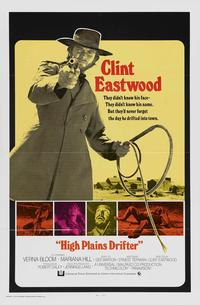 High Plains Drifter - 11 x 17 Movie Poster - Style C