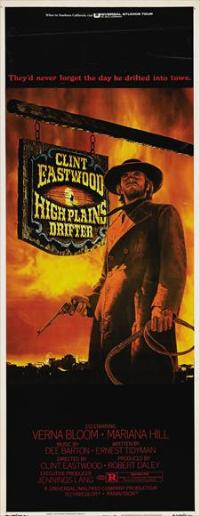 High Plains Drifter - 14 x 36 Movie Poster - Insert Style A