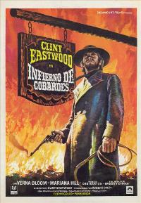 High Plains Drifter - 27 x 40 Movie Poster - Spanish Style A