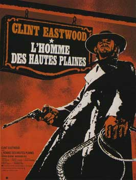 High Plains Drifter - 11 x 17 Movie Poster - French Style A