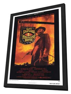 High Plains Drifter - 27 x 40 Movie Poster - Style A - in Deluxe Wood Frame
