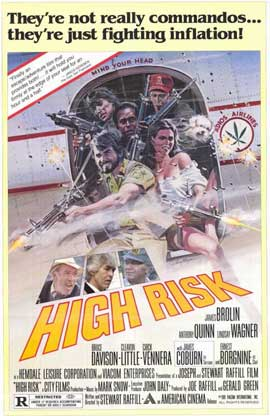 High Risk - 11 x 17 Movie Poster - Style A