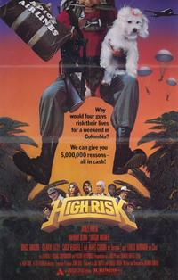 High Risk - 11 x 17 Movie Poster - Style B