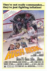 High Risk - 27 x 40 Movie Poster - Style B