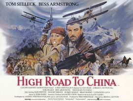 High Road to China - 11 x 17 Movie Poster - Style B