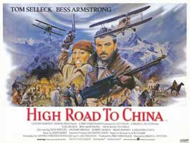 High Road to China - 11 x 14 Movie Poster - Style A