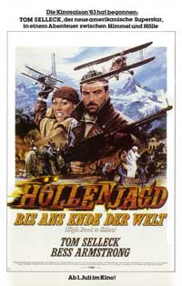 High Road to China - 11 x 17 Movie Poster - German Style A