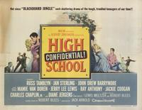 High School Confidential - 11 x 14 Movie Poster - Style A