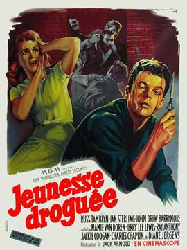 High School Confidential - 11 x 17 Movie Poster - French Style A