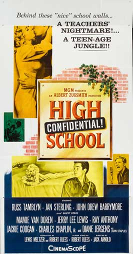 High School Confidential - 20 x 40 Movie Poster - Style A