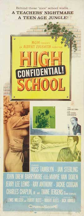 High School Confidential - 14 x 36 Movie Poster - Insert Style A