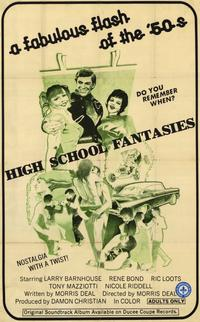 High School Fantasies - 11 x 17 Movie Poster - Style A