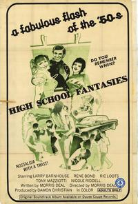 High School Fantasies - 27 x 40 Movie Poster - Style A