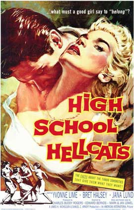 High School Hellcats - 11 x 17 Movie Poster - Style A