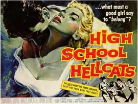 High School Hellcats - 11 x 17 Movie Poster - Style B