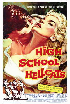 High School Hellcats - 27 x 40 Movie Poster - Style A