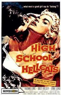 High School Hellcats - 43 x 62 Movie Poster - Bus Shelter Style A