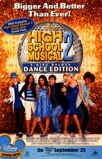 High School Musical 2 - 27 x 40 Movie Poster - Style C