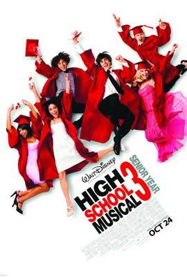 High School Musical 3: Senior Year - 27 x 40 Movie Poster - Style A