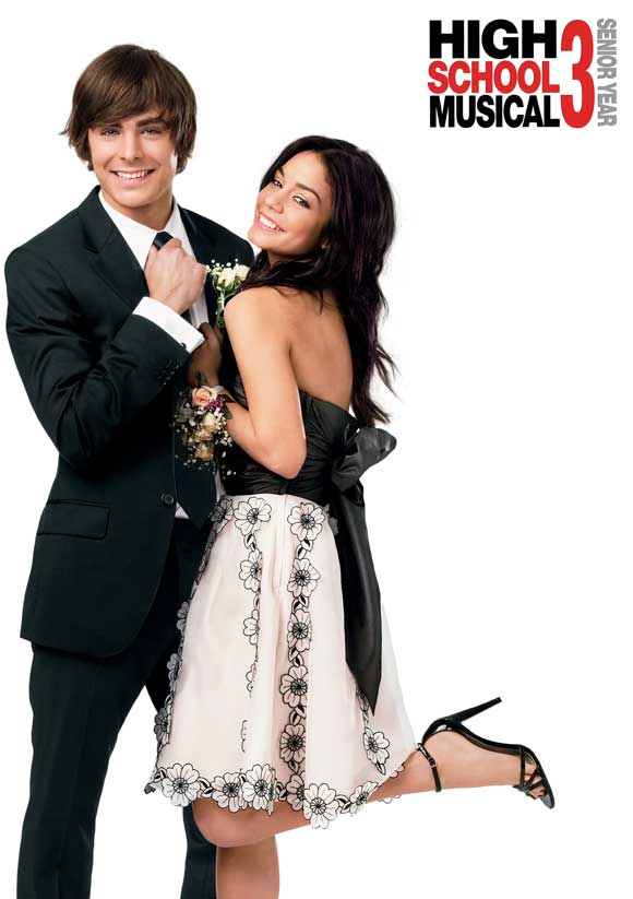 high school musical 3 senior year movie posters from