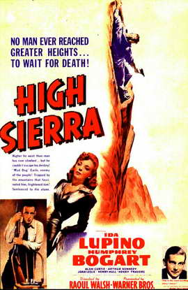 High Sierra - 11 x 17 Movie Poster - Style F
