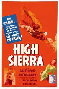 High Sierra - 11 x 17 Movie Poster - Style G
