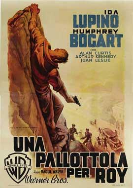 High Sierra - 27 x 40 Movie Poster - Italian Style B