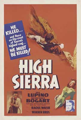 High Sierra - 27 x 40 Movie Poster - Style A