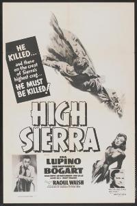 High Sierra - 27 x 40 Movie Poster - Style B