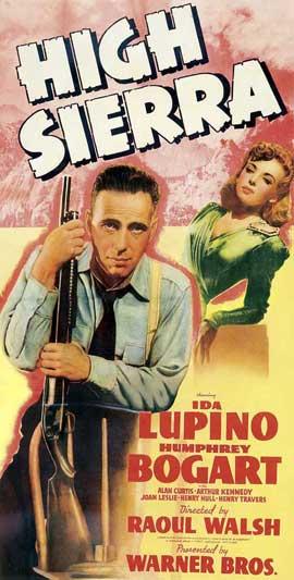 High Sierra - 14 x 36 Movie Poster - Insert Style B