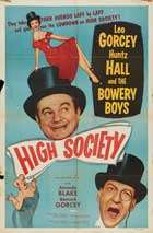 High Society - 27 x 40 Movie Poster - Style H