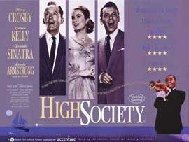 High Society - 11 x 17 Movie Poster - Style A
