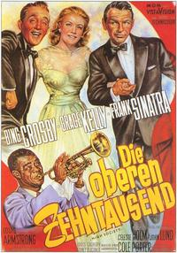 High Society - 11 x 17 Movie Poster - German Style A