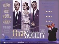 High Society - 43 x 62 Movie Poster - Bus Shelter Style A