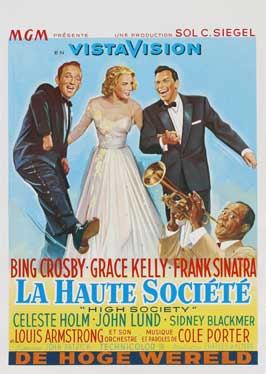 High Society - 27 x 40 Movie Poster - Belgian Style A