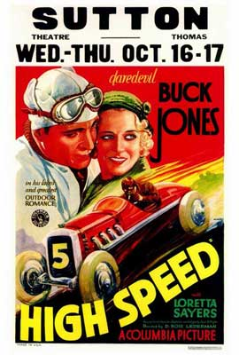 High Speed - 27 x 40 Movie Poster - Style A
