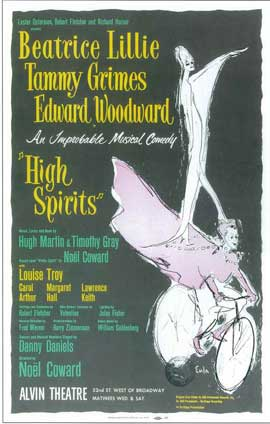 High Spirits (Broadway) - 14 x 22 Poster - Style A