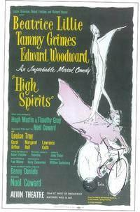 High Spirits (Broadway) - 11 x 17 Poster - Style A