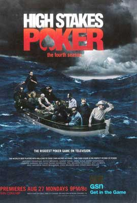 High Stakes Poker - 11 x 17 TV Poster - Style A