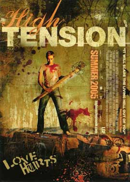 High Tension - 11 x 17 Movie Poster - Style B