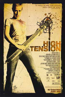 High Tension - 11 x 17 Movie Poster - Style D