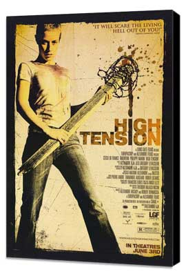 High Tension - 11 x 17 Movie Poster - Style D - Museum Wrapped Canvas