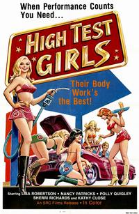 High Test Girls - 11 x 17 Movie Poster - Style A