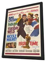 High Time - 11 x 17 Movie Poster - Style A - in Deluxe Wood Frame