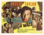 High Wall - 27 x 40 Movie Poster - Style B